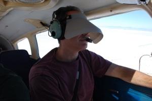 student pilot instrument hood