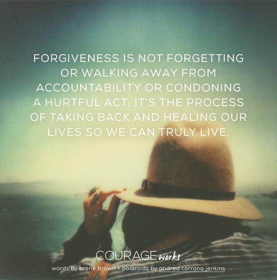 forgiveness is not forgetting