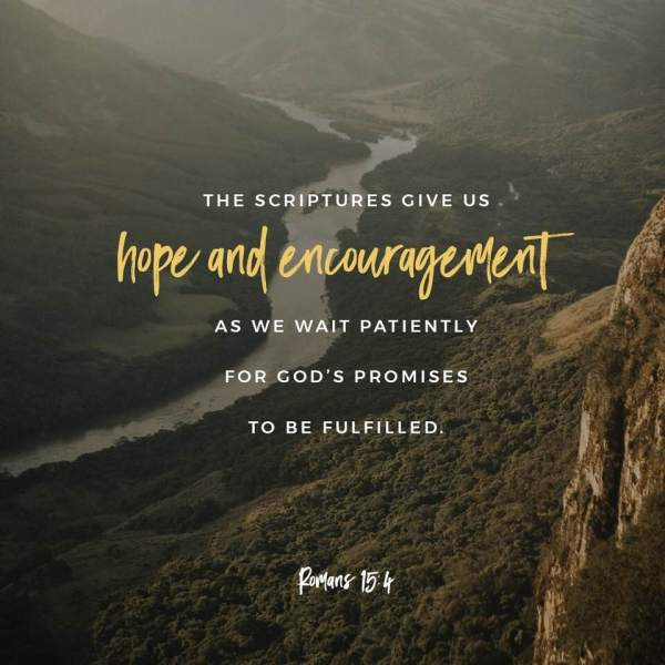 wait patiently for gods promises