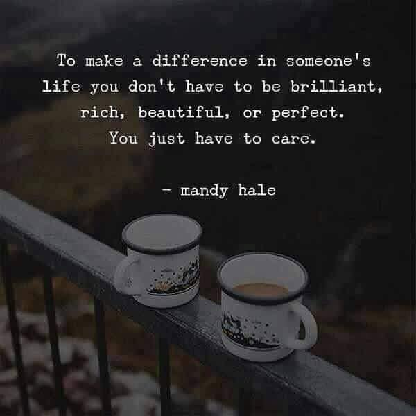 all you have to do is care coffee cups