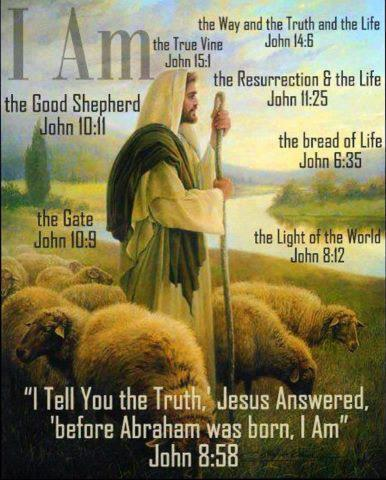 jesus the shepherd the i am