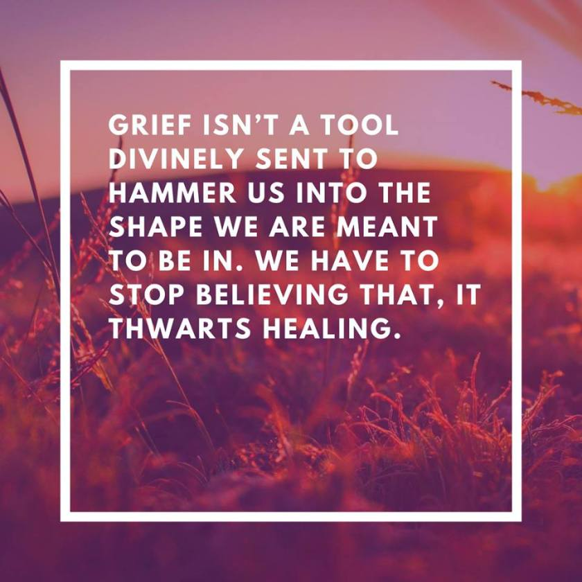 grief is not a tool