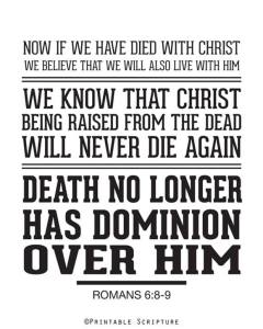 if we died with christ we will be raised with him