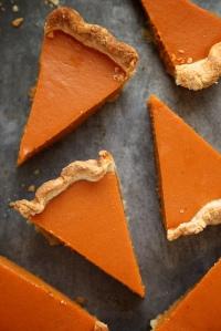 pumpkin pie perfect slices