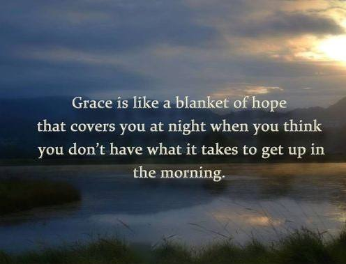 grace is a blanket of hope