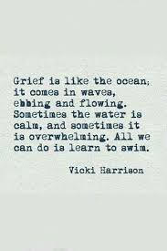 grief like the ocean learn to swim
