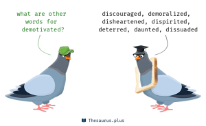 demotivated pigeons