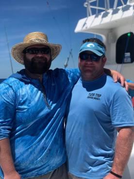 julian and brandon on tuna trip 2019