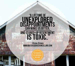 lifetime of unexplored resentments brene brown