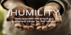 god opposes the proud humble hands
