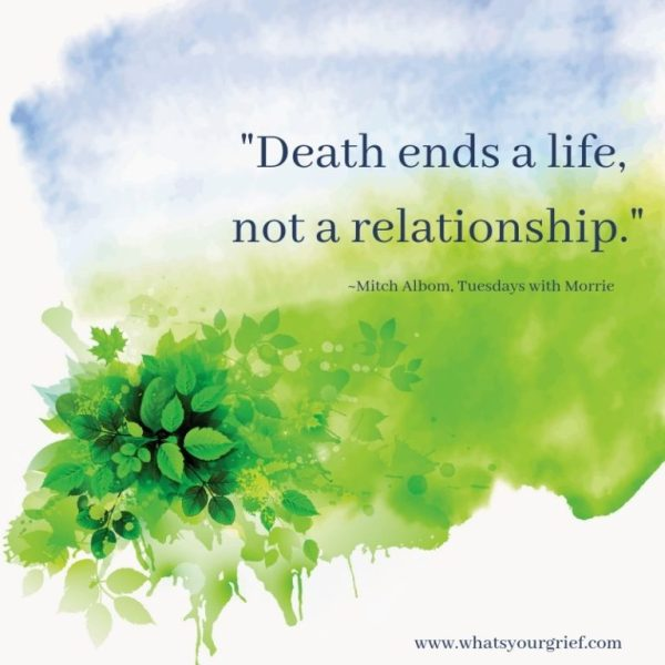 death-ends-a-life-not-a-relationship-gentle green