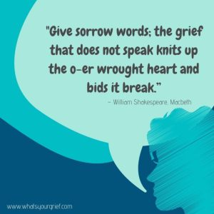 Give-sorrow-words shakespeare
