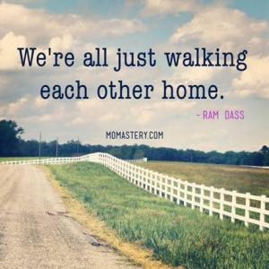 were all just walking each other home