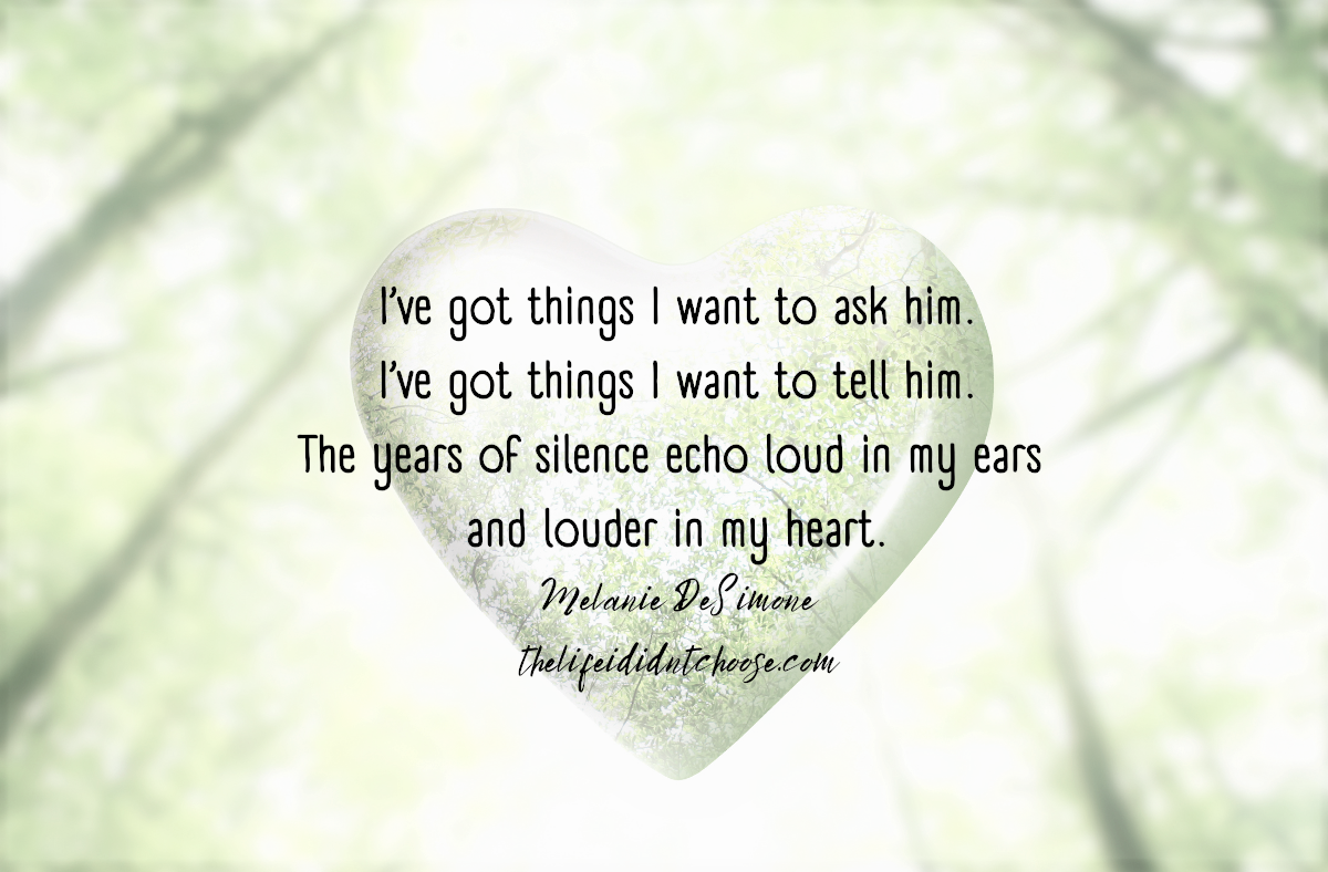 I Miss His Voice!  Silent Echoes Haunt MyHeart.